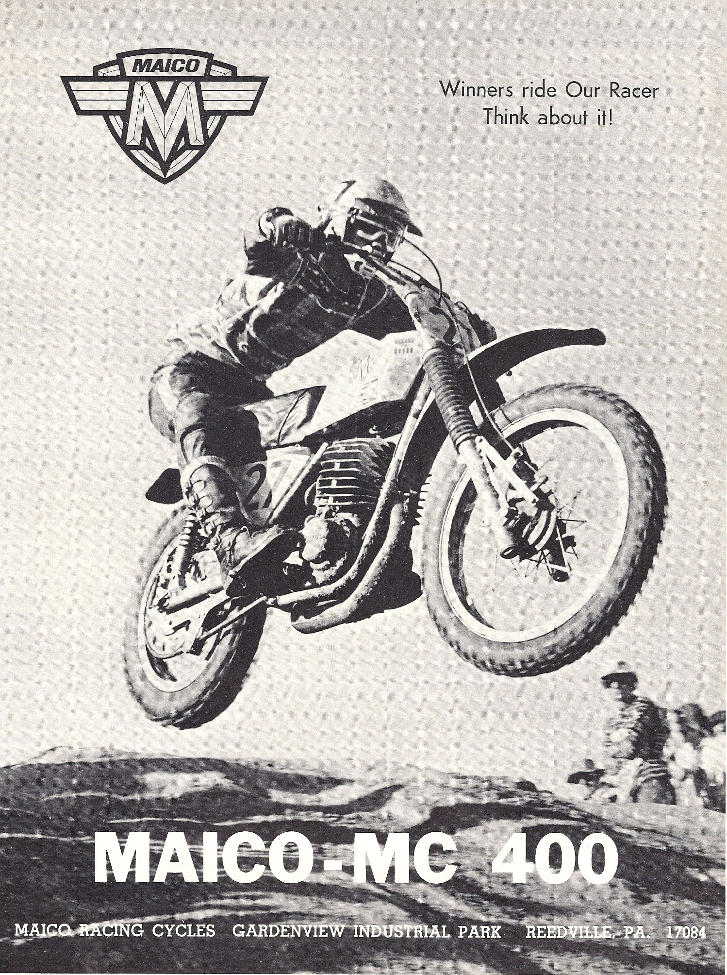 MAICO MC 400 advertisement