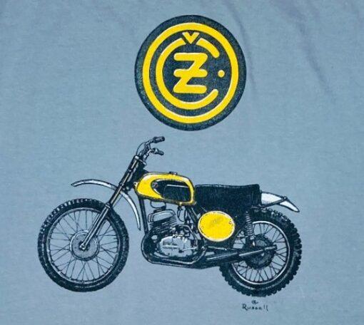 CZ Motorcycle t-shirt