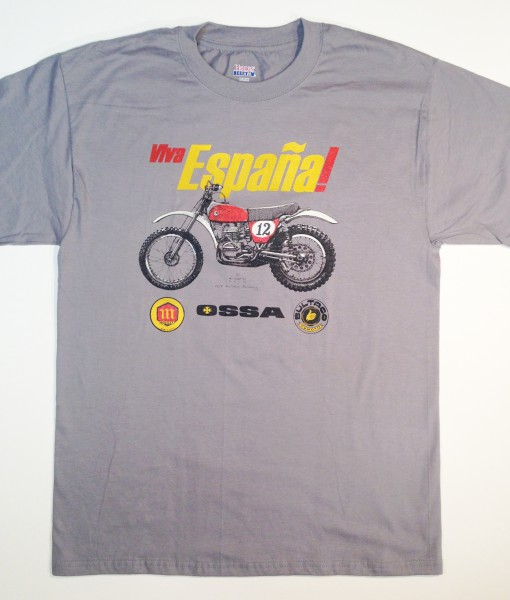 1973 Bultaco Pursang t-shirt