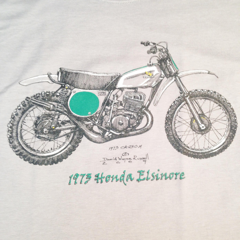 1973 Honda Elsinore t shirt