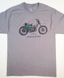 """1973 Honda """"Elsinore"""" CR-250M t shirt"""