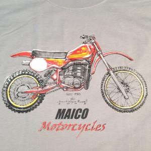 1981 Maico 490 t shirt