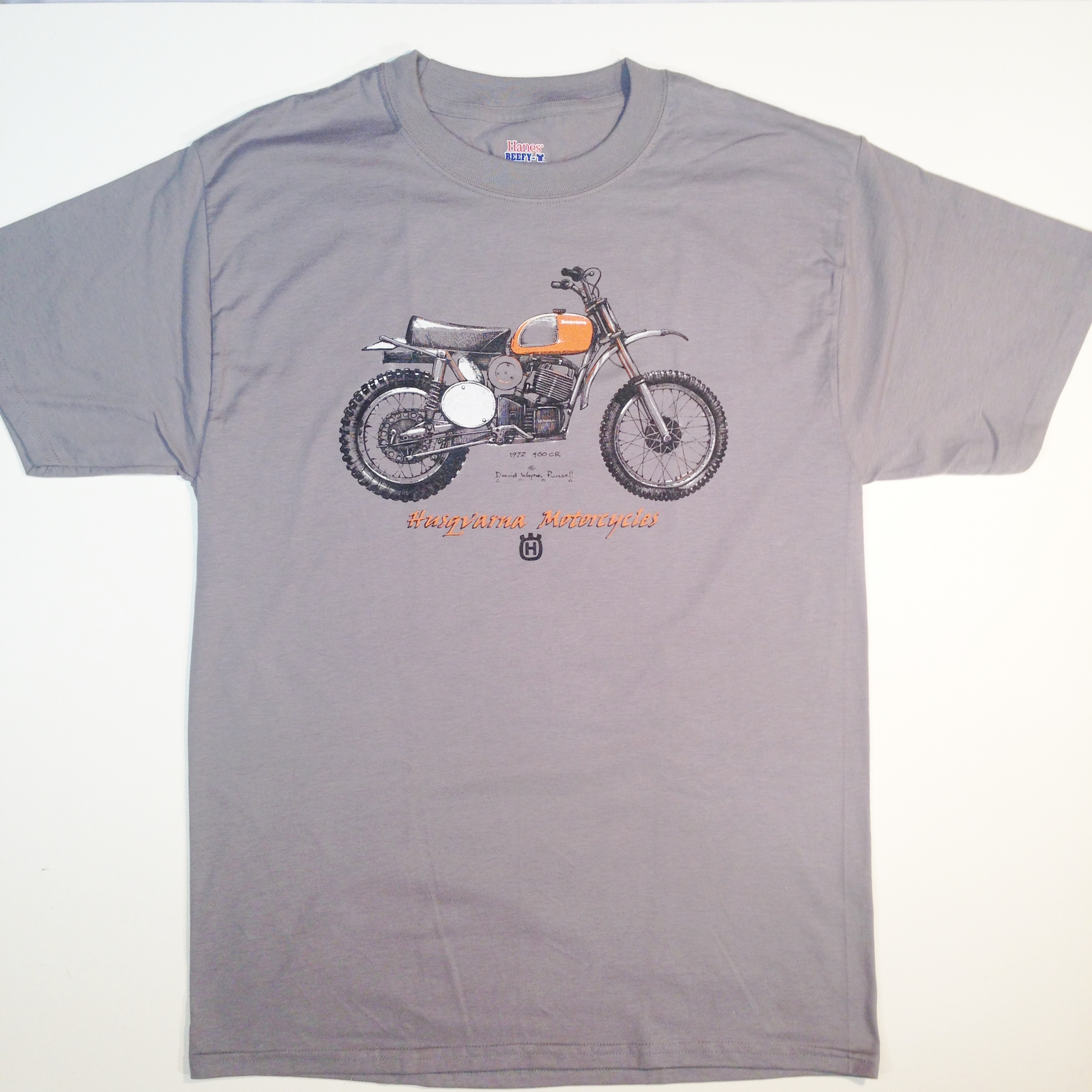 husqvarna 400 CR t-shirt
