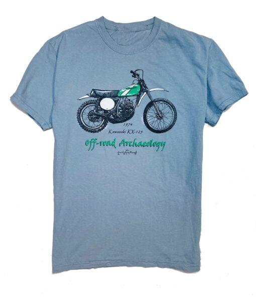 1974 Kawasaki KX – 125 t shirt