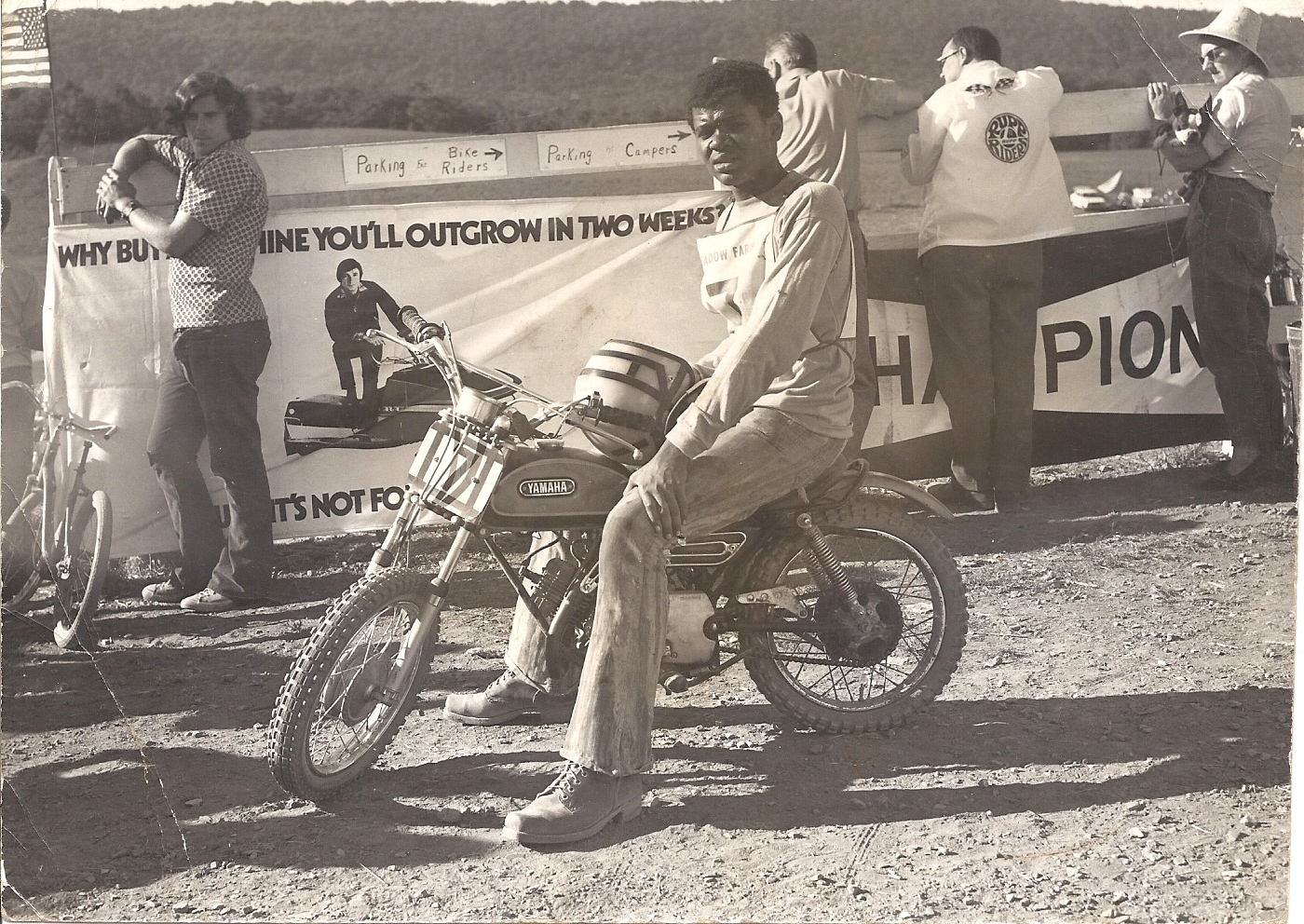 Brian Thompson's first race