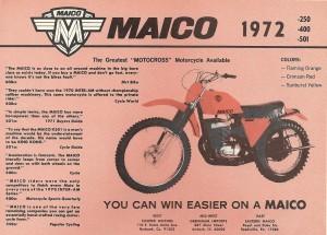 Maico 501 ad