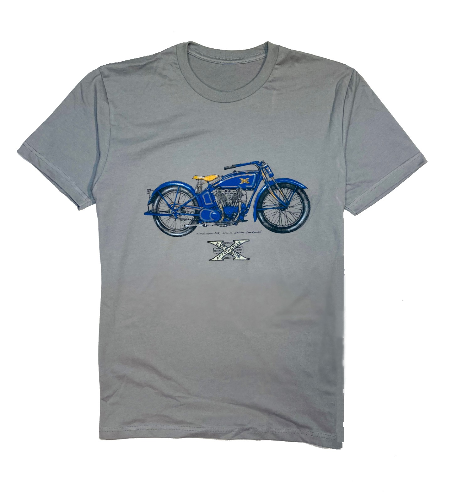 Excelsior motorcycle t-shirt