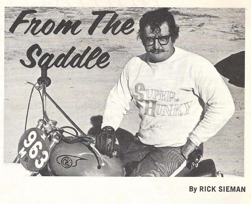 Rick Sieman Dirt Bike Magazine