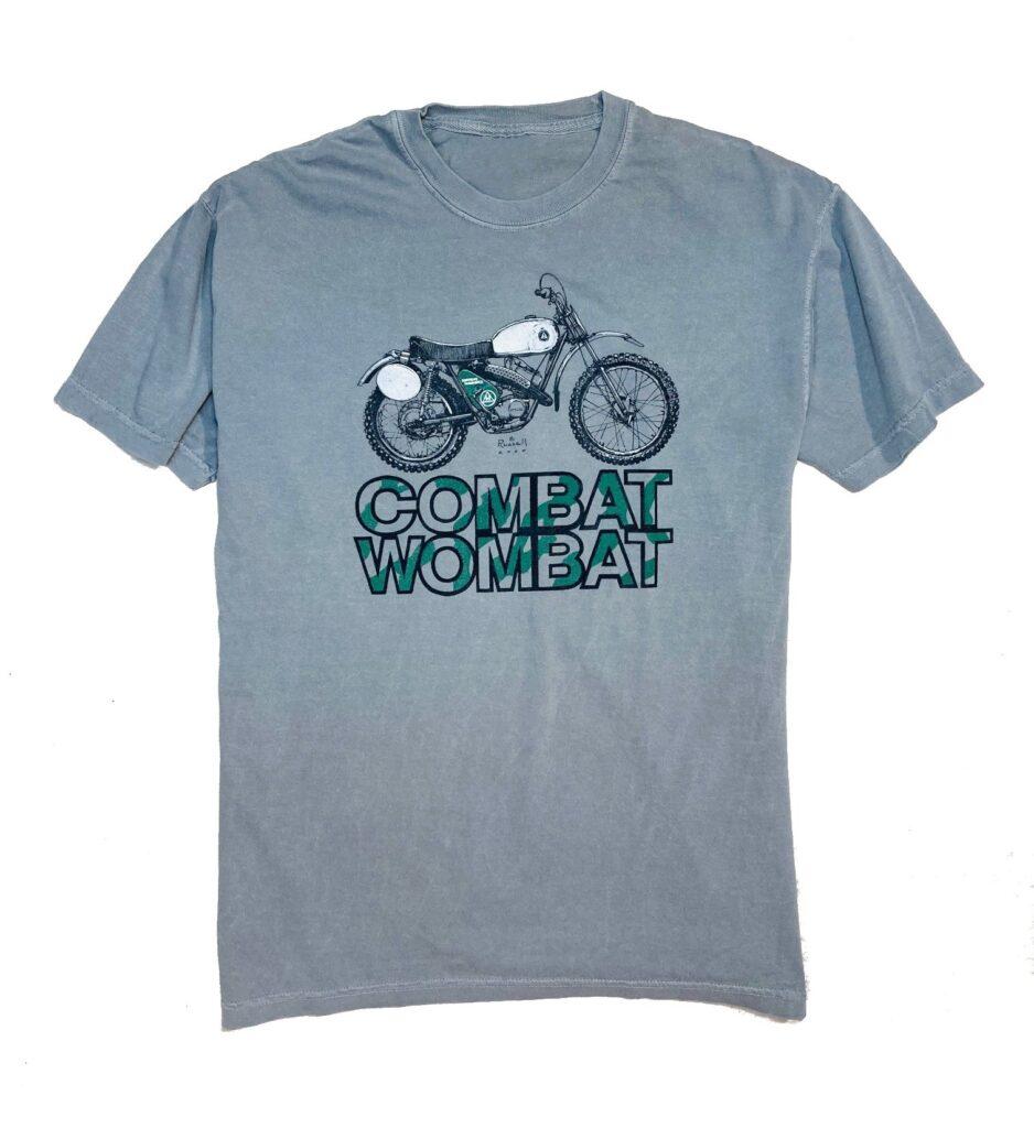 Hodaka Combat Wombat men's t shirt