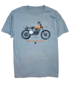 1972 Husqvarna 400 CR t shirt