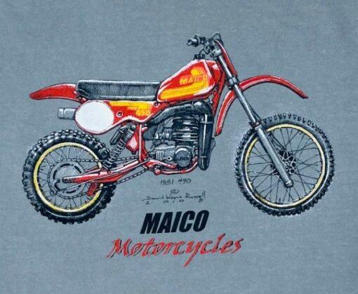 maico 490 t shirt