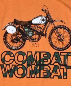 Hodaka Combat Wombat t shirt