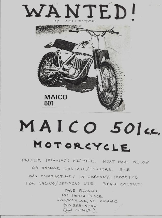 Maico 501 add