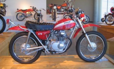 restored Honda SL-175