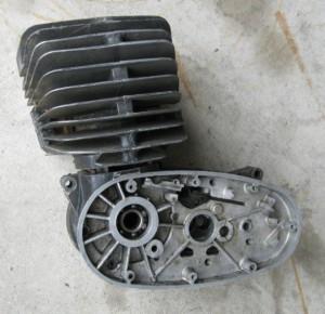Discarded Maico Racing Engine