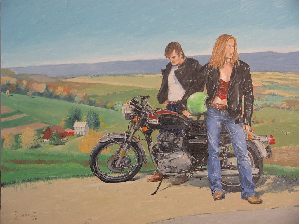 the motorcycle as art