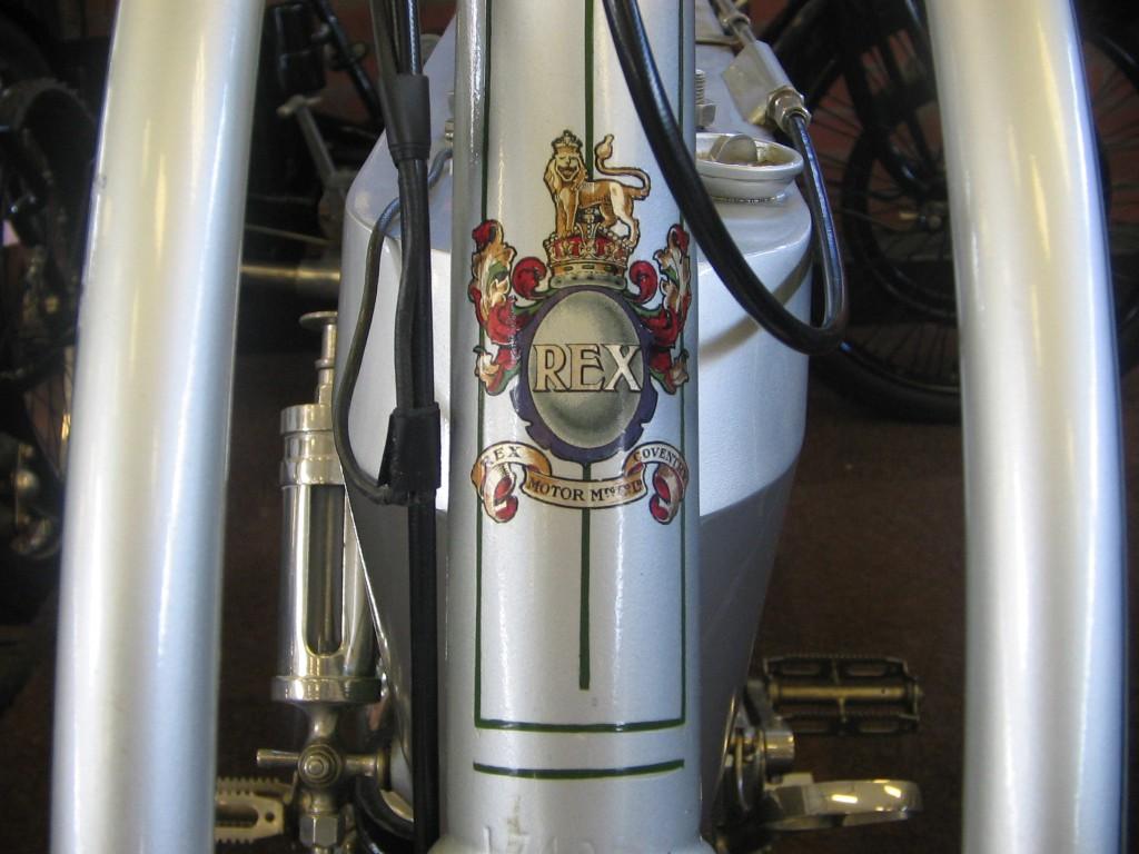 Rex water motorcycle decal