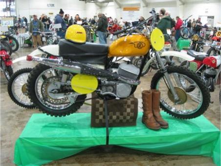 Pristine CZ Motorcylcle