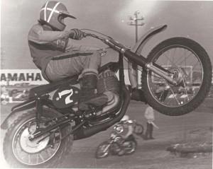 Tim Hart flying Maico, circa 1970