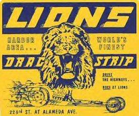 Lions Drag Strip racing park