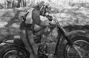Tim with one of his Maico's