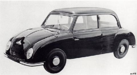 "1956 Maico ""500"" car"