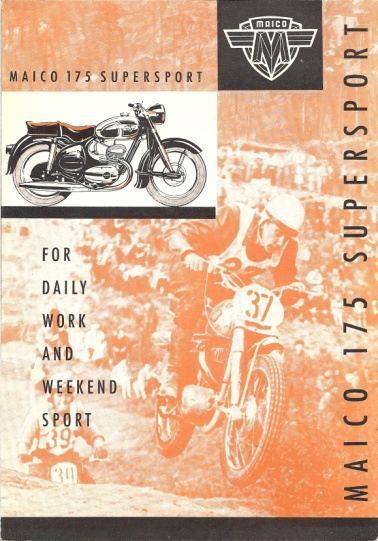 1956 Maico English-language brochure