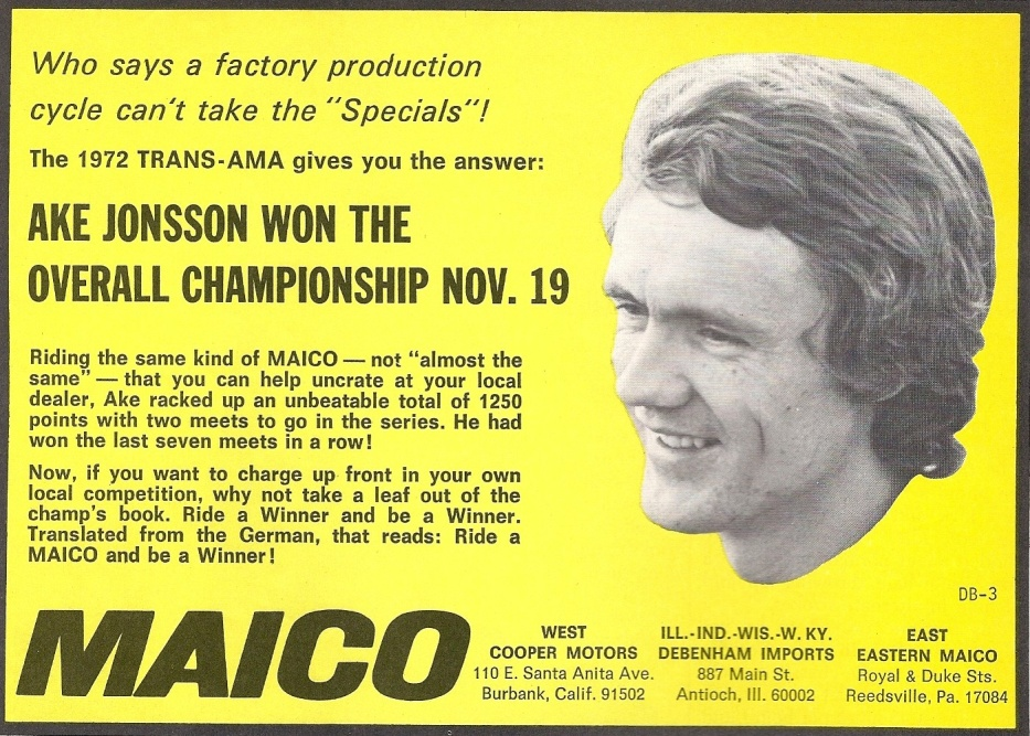 Ake Maico Advertisement
