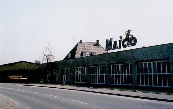 The Maico works, Pfeffingen, Germany
