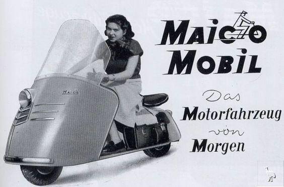 The Maico Mobil circa 1953