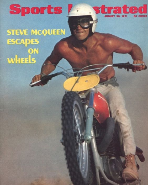 Steve McQeen Sports Illustrated