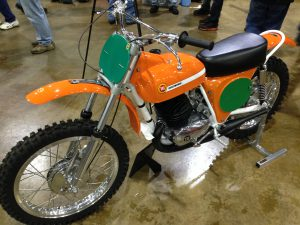 York Bike Show 1969 Montesa Cappra 250 GP