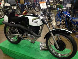 York Bike Show 1974 Ossa Cafe