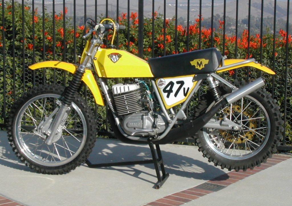 restoring a Maico motorcycle