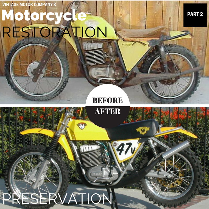 Motorcycle Preservation and Restoration Part 2  | Vintage Motor Company