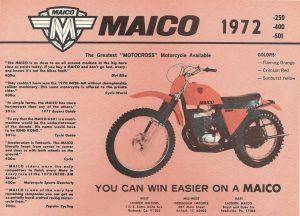 1972 Maico 501 flyer