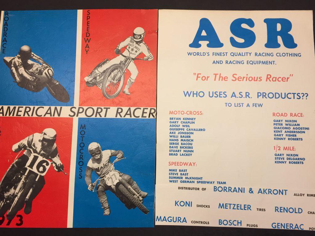 Dennie Moore and American Sport Racer (ASR).