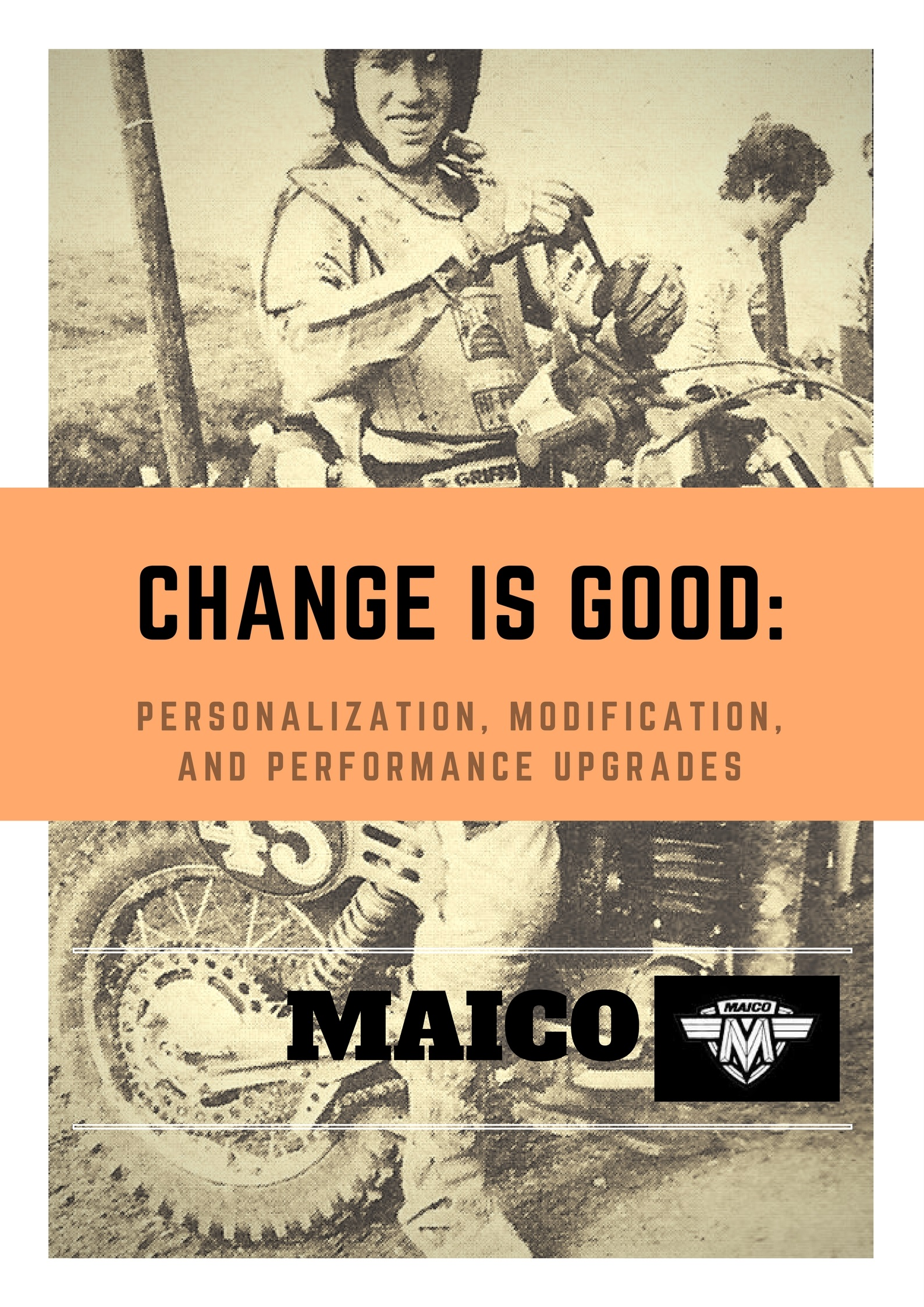 maico motorcycle customization