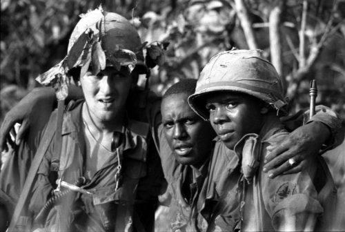 black Vietnam soilder