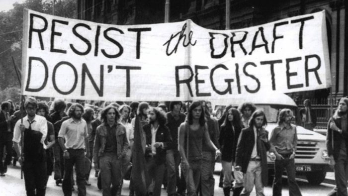 Vietnam war draft resistance