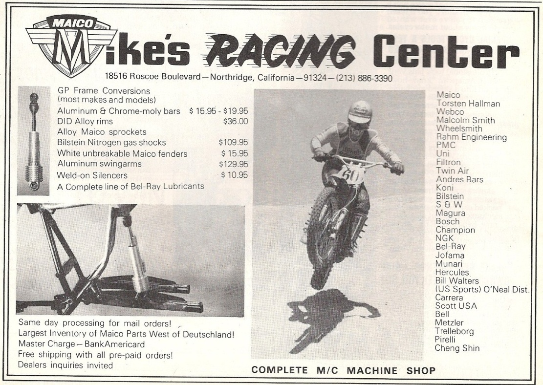 Mike's Racing Center Maico