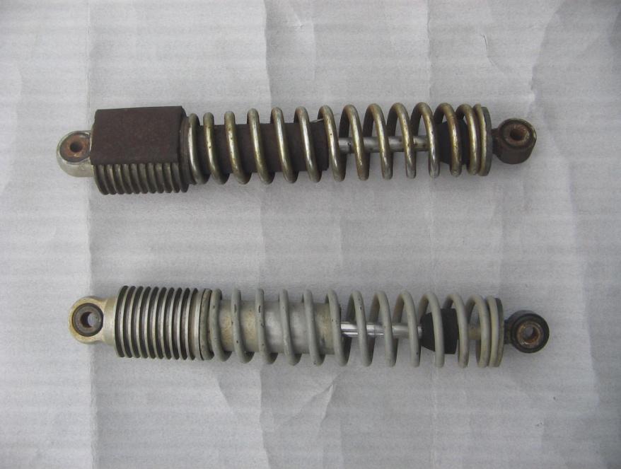 Prototype aluminum-bodied shocks