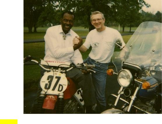 Chuck Berry motorcycle