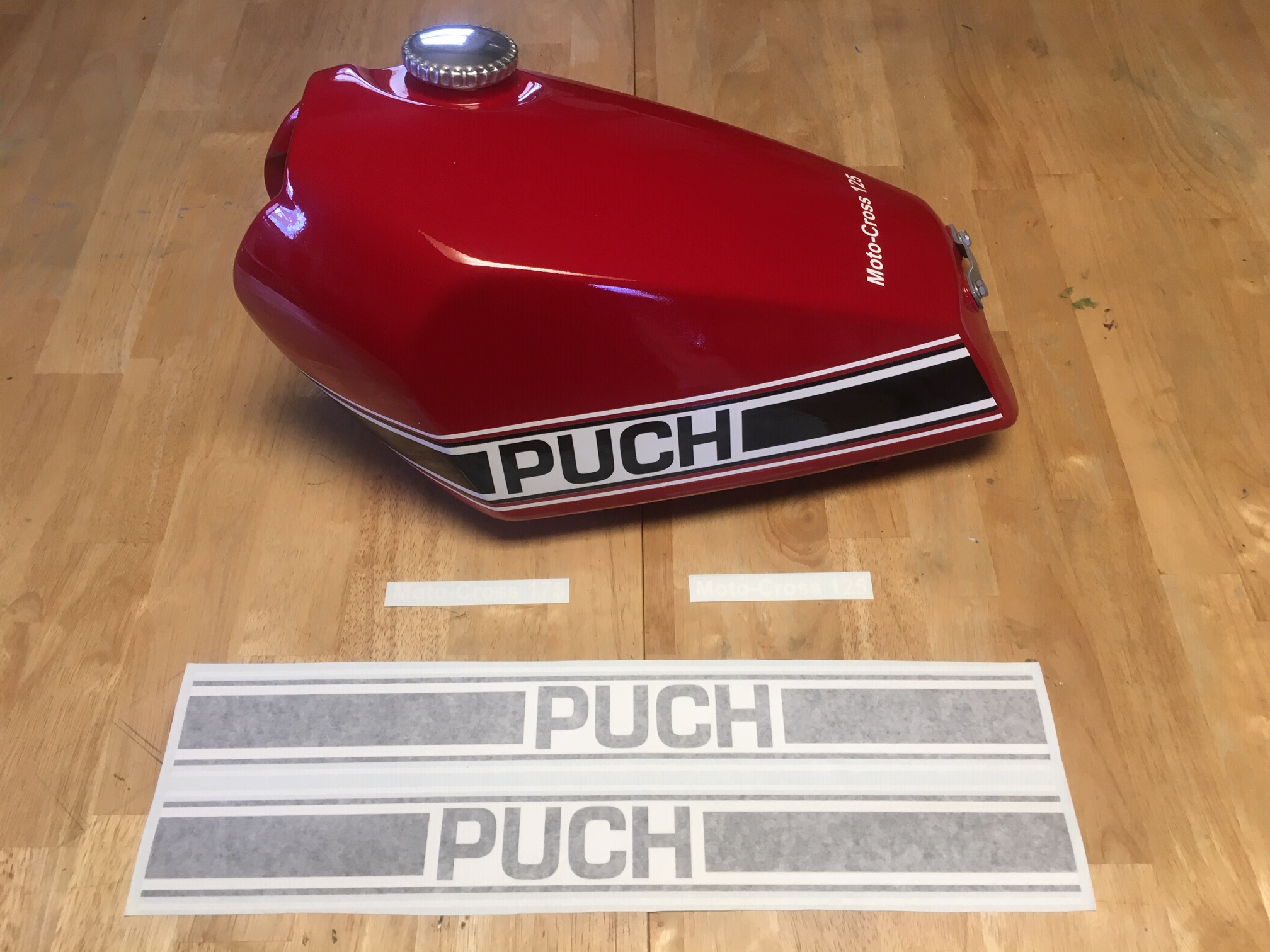 Puch Decals