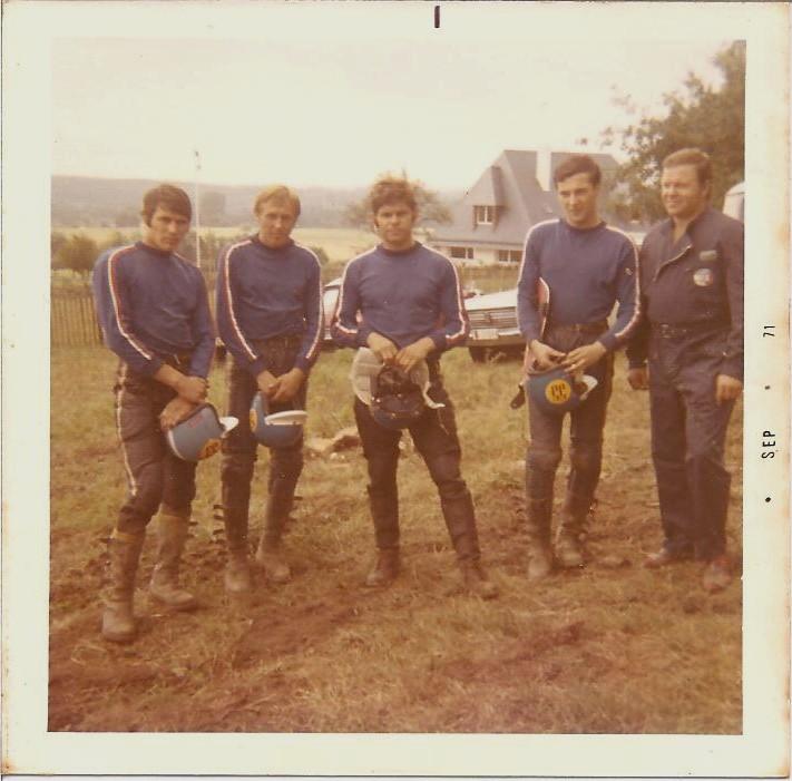 Czech team, MX des Nations, 1971