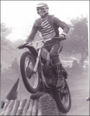 John Barclay motocross