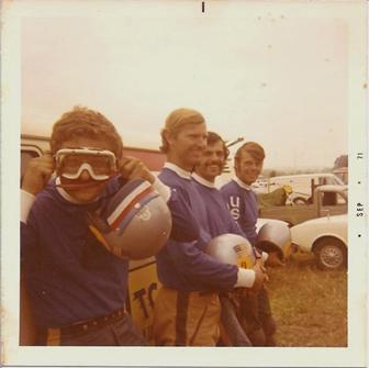 American Motocross Team, France, 1971