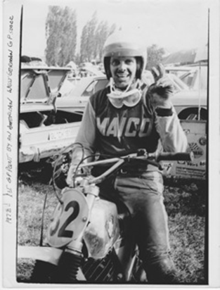 Bryan Kenney at the 1972 West German Grand Prix
