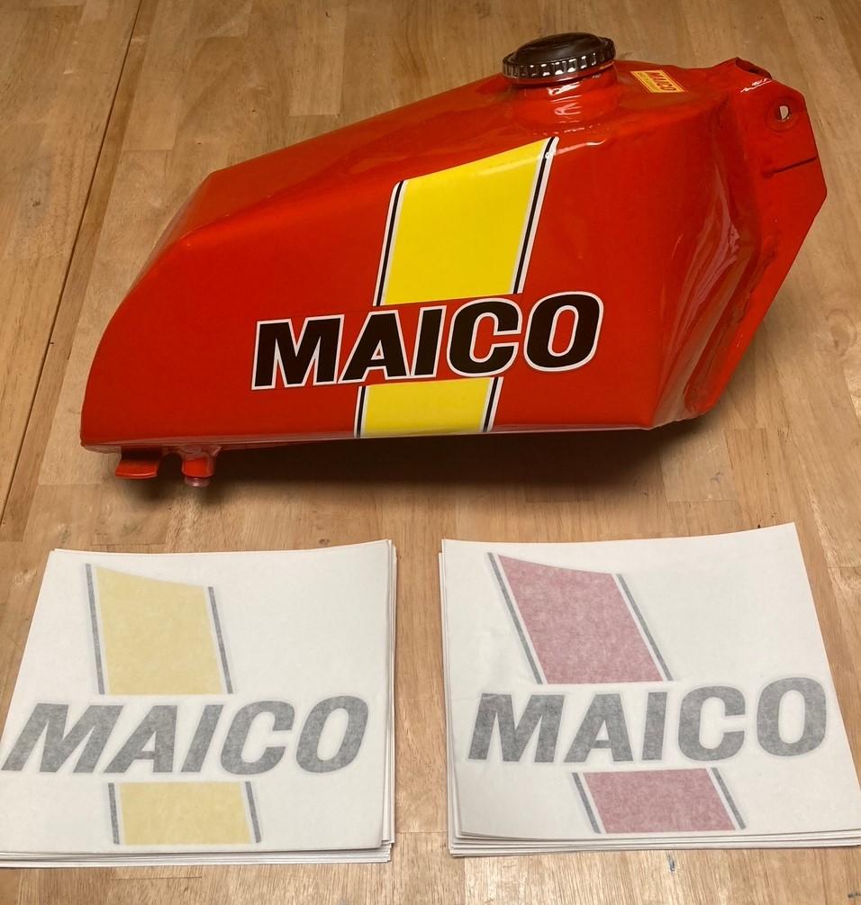 Maico Tank Decals