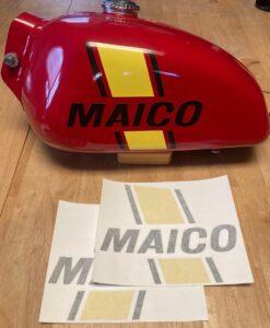 1978 Maico Tank Decals